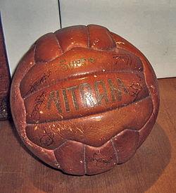Balón_Final_Copa_de_Ferias_1958